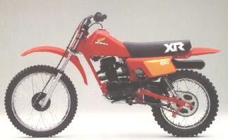 Honda XR100'83
