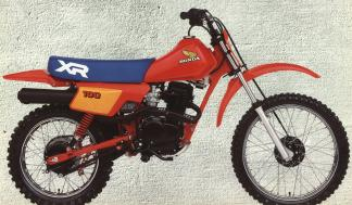 Honda Motorcycles XR100 and XR100R