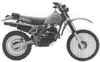 XR250R'81