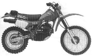 XR250R'82