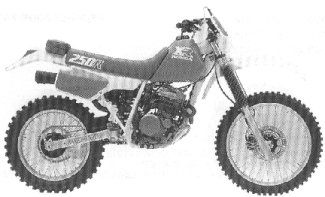 XR250R'86