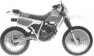 XR250R'87