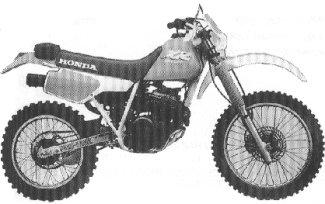 XR250R'88