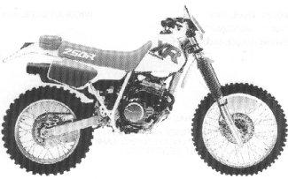 XR250R'92